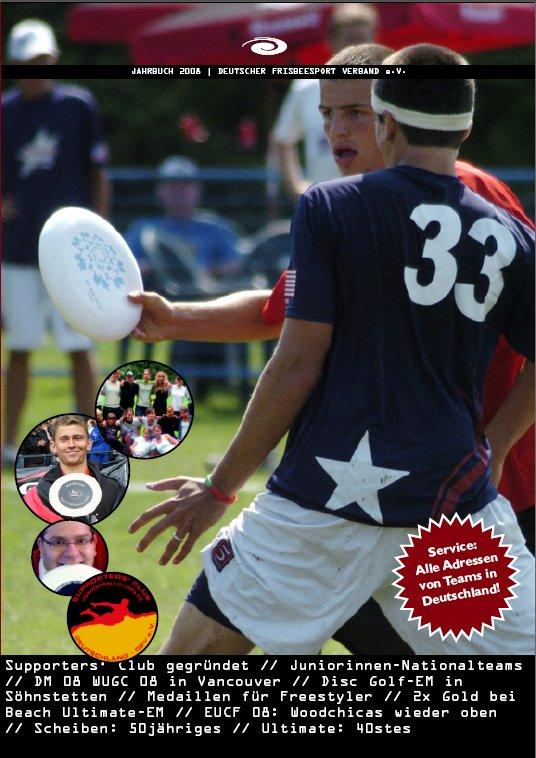 Front des DFV-Jahrbuchs 2008
