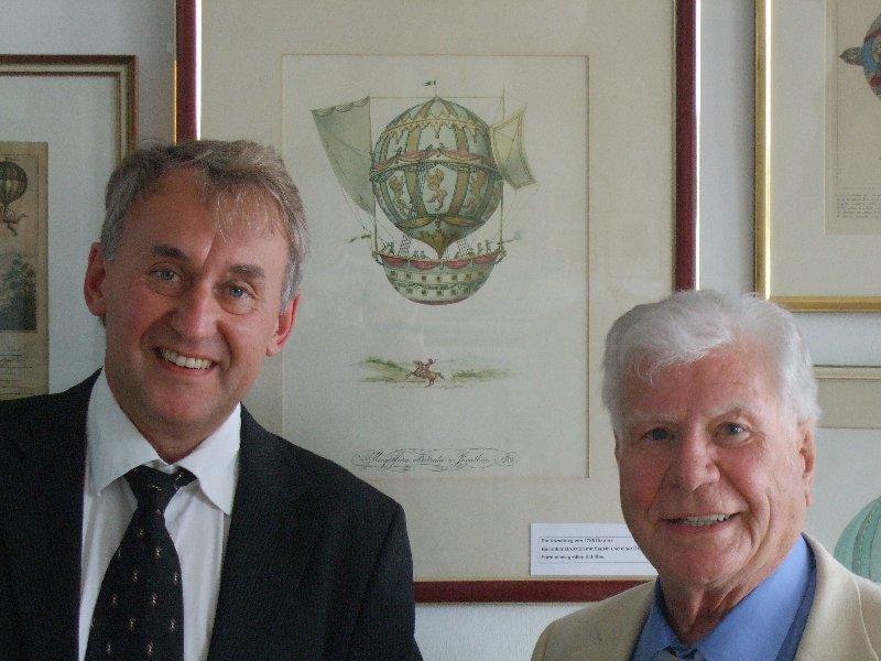 Eberhard Illner und Edgar Meyer eröffneten Sonderausstellung