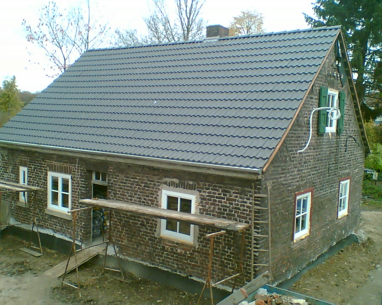 Das Häuschen in Ratingen nach der Grundrenovierung
