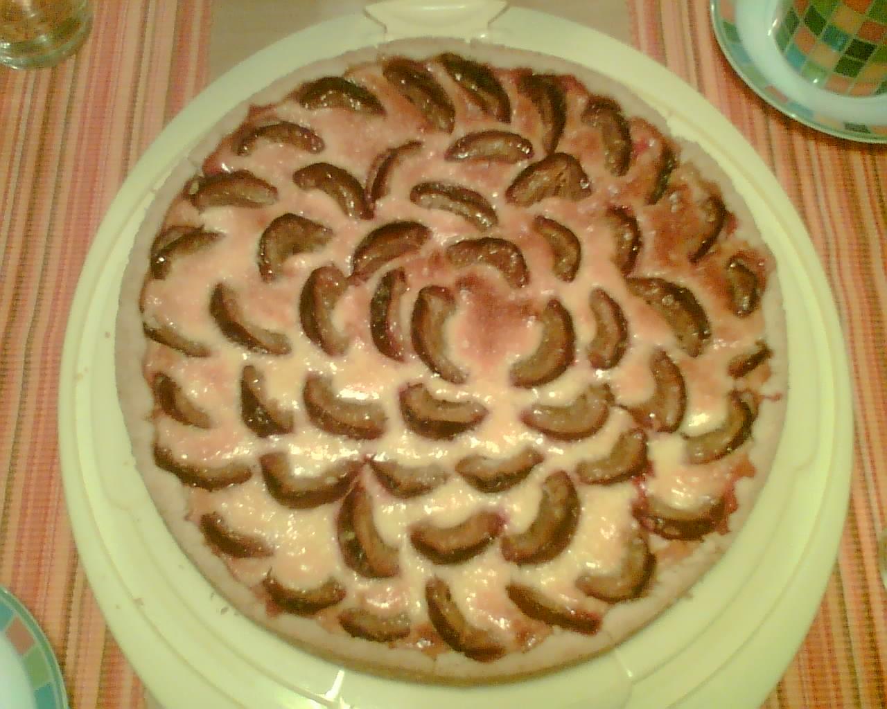 Der erste Pflaumenkuchen im Herbst 2009