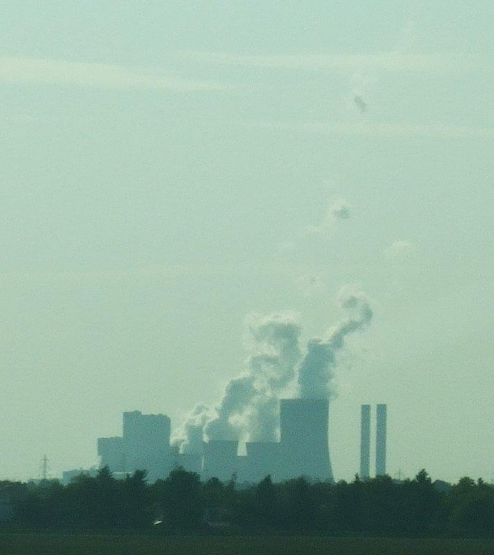 Das Kohlekraftwerk Niederaußem liegt zehn Kilometer von meinem Wohnort entfernt