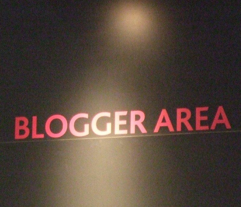 Der Social Media Market Place auf der dmexco 2009: Die Blogger Area