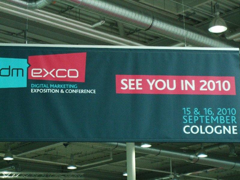Ausblick auf die dmexco im kommenden Jahr erneut in Köln