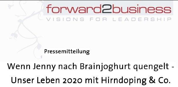 """Pressemitteilung zur Buchveröffentlichung """"2020 ..."""""""