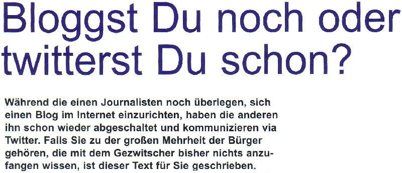 Bettina Blaß im Journal DJV NRW