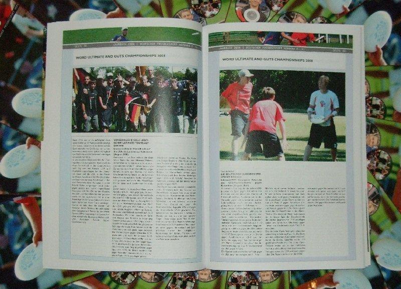 Blick hinein ins DFV-Jahrbuch 2008