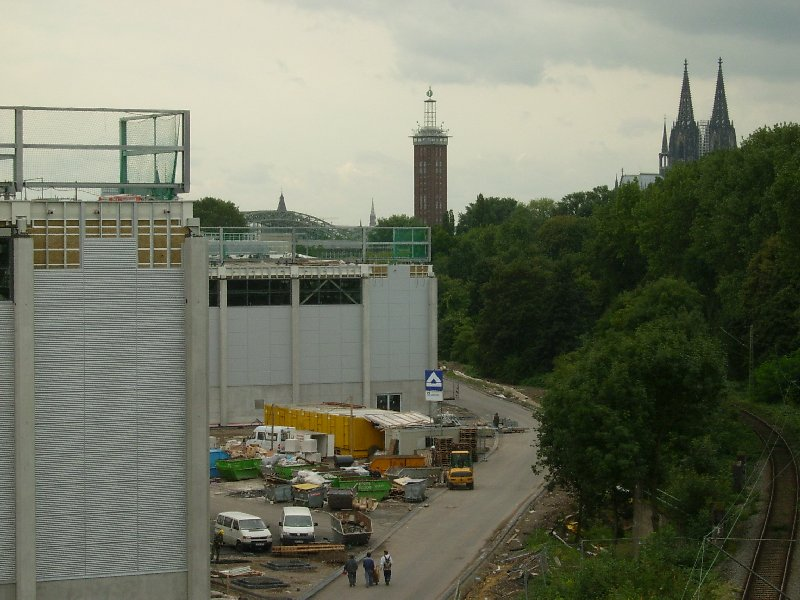 Bereits vor Fertigstellung beschäftigte der Neubau der Nordhallen für die Köln-Messe die Staatsanwaltschaft Köln