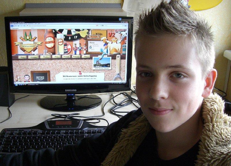 Tobias Bölter könnte sich vorstellen, Webprogrammierer zu werden