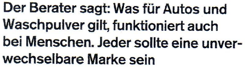 """Aus """"Projekt Neustart"""" im Magazin der Süddeutschen vom 17.10.2009"""