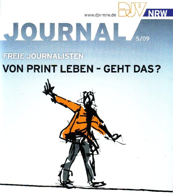 Das Journal DJV NRW 05-09 mit der Titelgeschichte
