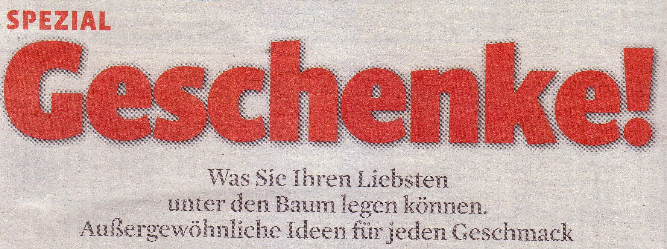 Kölner Stadt-Anzeiger Magazin, 28.11.09