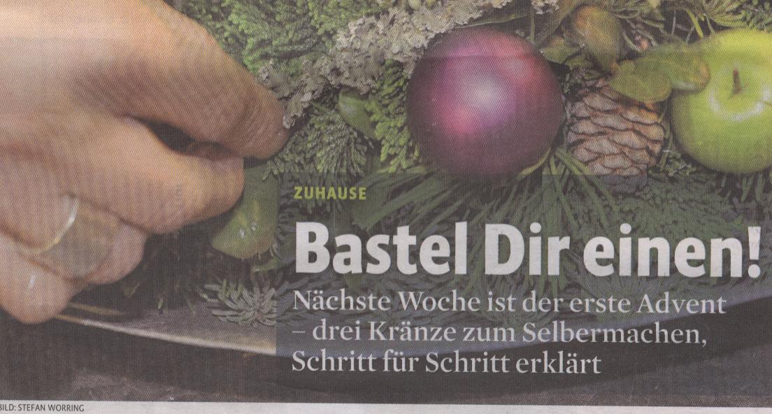 Kölner Stadt-Anzeiger, Titel des Magazins vom 16.11.09