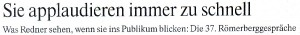FAZ, 23.11.2009, Überschrift des Beitrags von Thorsten Gräbe