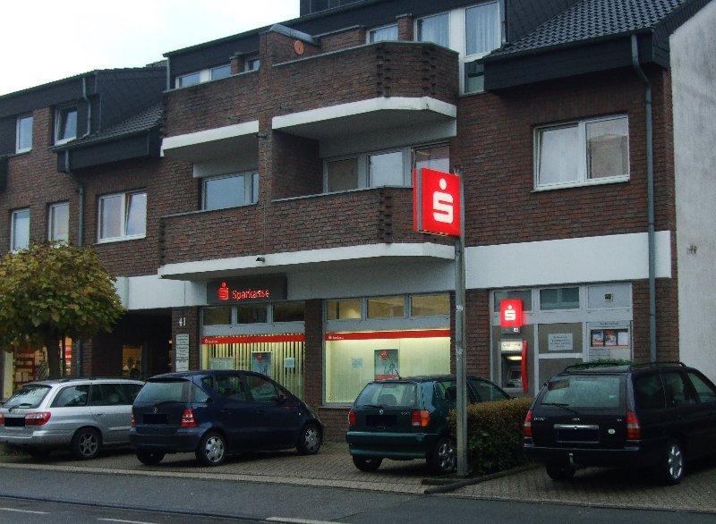 Die Filiale der Sparkasse KölnBonn in Esch wird 2010 geschlossen