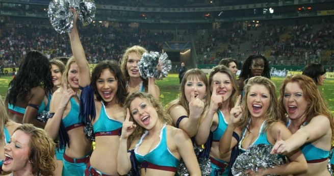 Seapearls Hamburg, das Cheerdance-Team der XFL-A