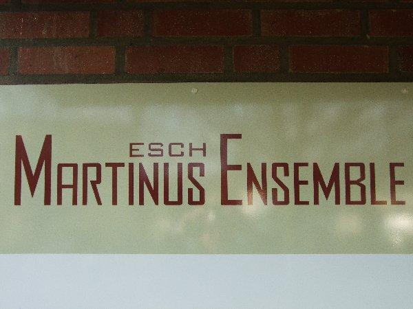 Ankündigung des Martinus-Ensemble