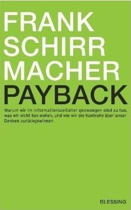 Das Cover von Frank Schirrmacher: Payback