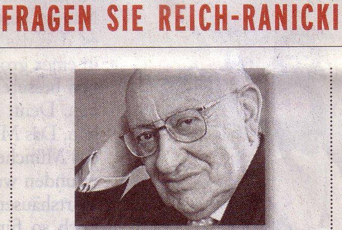 FAS, 29.11.09, Titel: Fragen Sie Reich-Ranicki