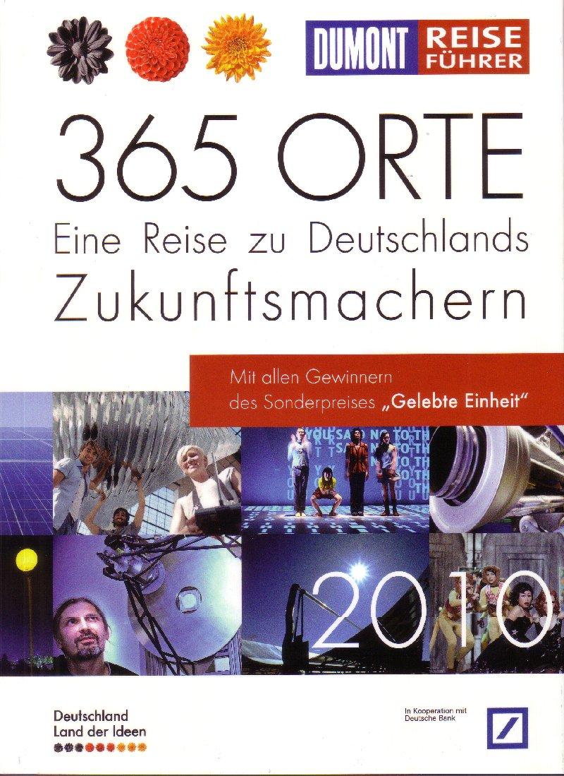 """Das Cover des DuMont Reiseführers zu """"365 Orte"""" 2010"""