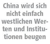 """FTD, 15.01.2010, Zwischenüberschrift aus """"Wenn China die Welt regiert"""""""