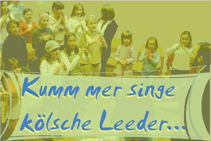 Werbung für ein Kindergartenkonzert von Björn Heuser