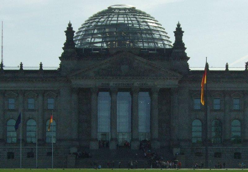 Ansicht des Berliner Reichstagsgebäudes