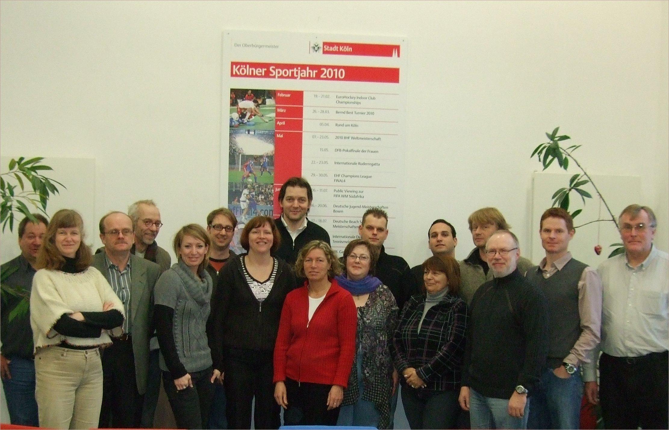 Die erste Vereins-Manager C-Lerngruppe von LSB NRW und SSBK