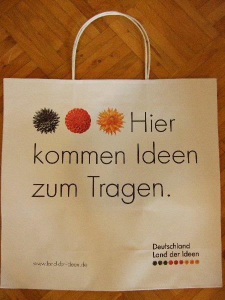 """""""Land der Ideen""""-Tragetasche"""