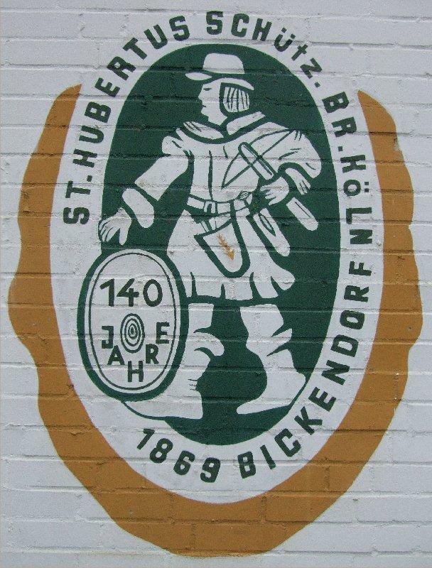 Wappen der St. Hubertus Schützenbruderschaft Bickendorf