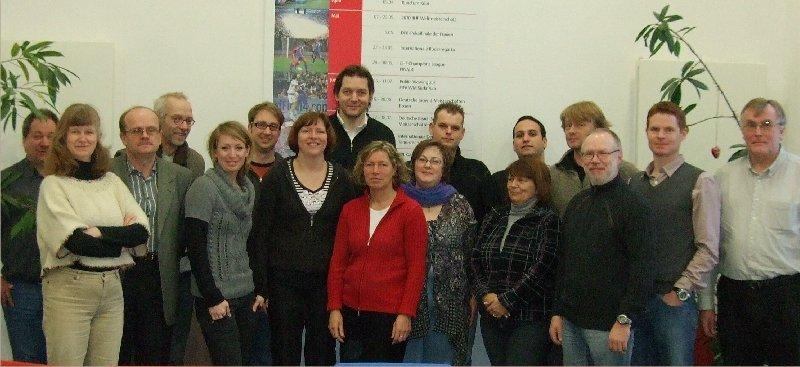 Die Lerngruppe der Weiterbildung zur C-Lizenz Vereinsmanagement in Köln