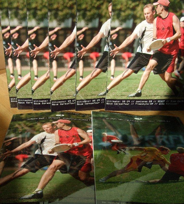 Front und Rückeite des DFV-Jahrbuchs 2009