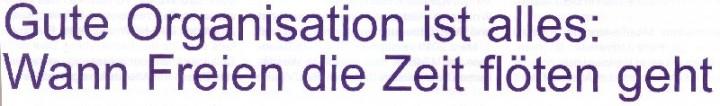 Journal DFV-NRW 02-10, Titel: Gute Organisation ist alles