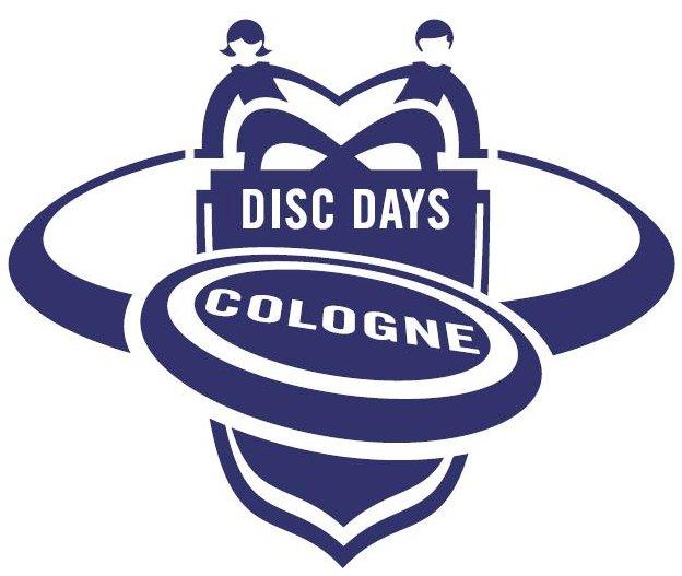 """Logo der """"Disc Days Cologne"""" von Till Nows"""