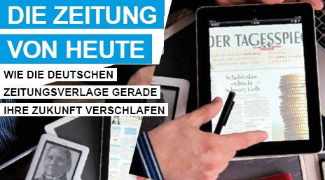 visdp.de, 14.05.10, Titel: Die Zeitung von heute