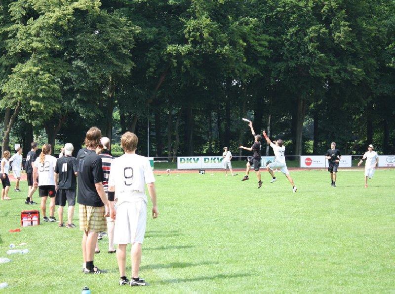 Ultimate Vibration in schwarz dominierte im Open-Finale der DDC 2010 gegen die 7 Schwaben Stuttgart