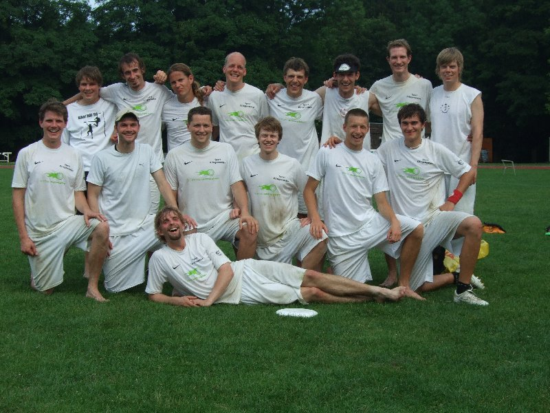 """Vorjahressieger und Finalist der Open-Division bei den DDC 2010: """"Die 7 Schwaben"""""""
