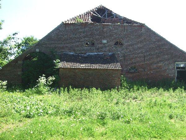 Verfallenes Gulfhaus in Grotegaste