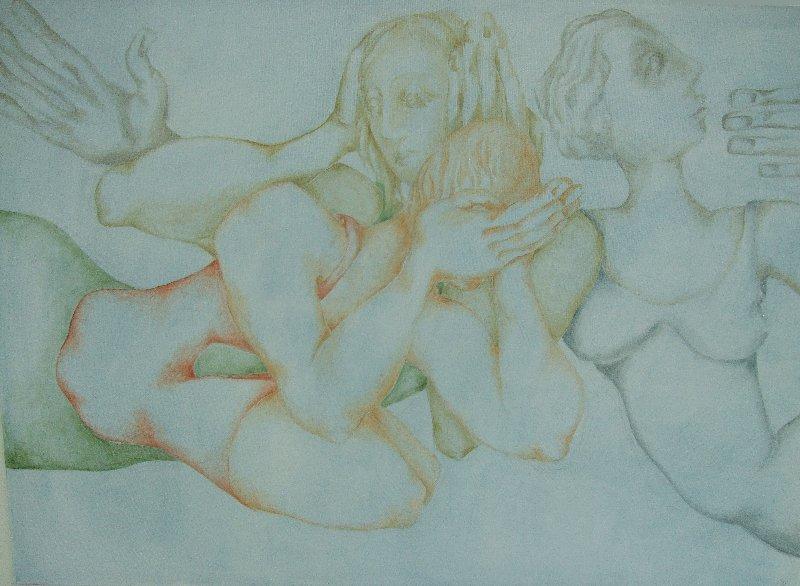 Ekaterina Milyukova: Drei Weisen auf Frauenart. Nichts sehen, nichts hören - sprechen.
