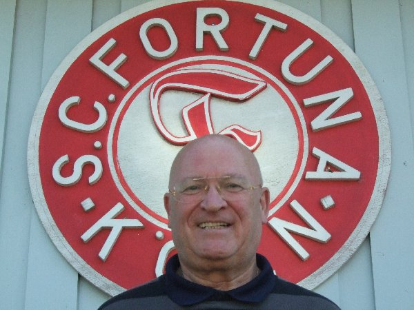Als 1. Vorsitzender des S.C. Fortuna Köln im Amt bestätigt, Klaus Ulonska