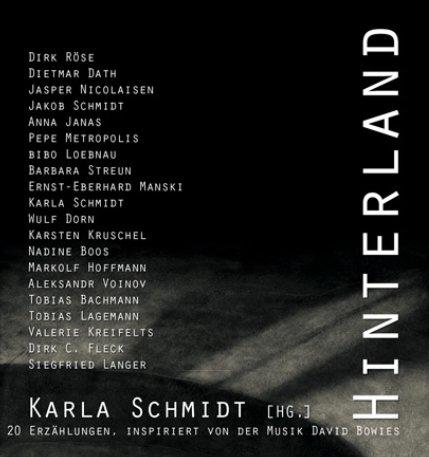 """Cover der Science Fiction-Anthologie """"Hinterland"""""""