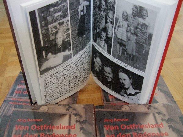 Jörg Benner: Von Ostfriesland an den Bodensee, Berlin 2010, Hardcover, 212 Seiten