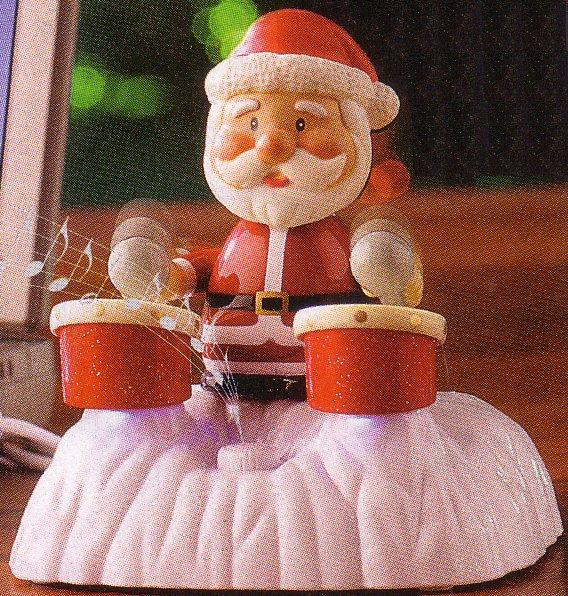 USB-Trommel-Weihnachtsmann von Pearl