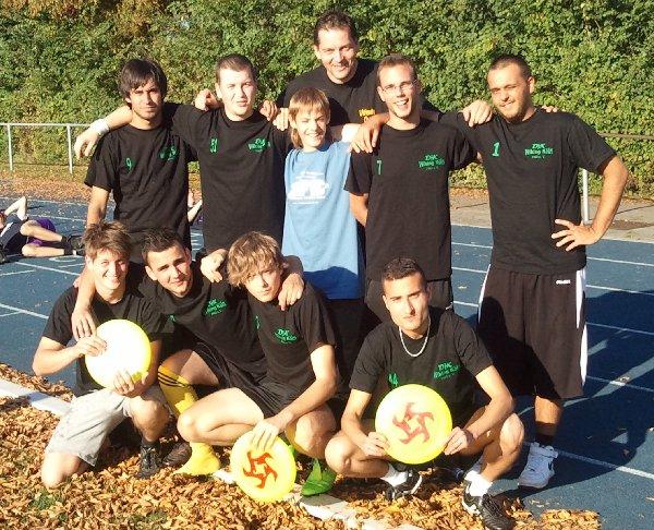 Ultimate Chorweiler beim ersten Turnierbesuch in Wageningen