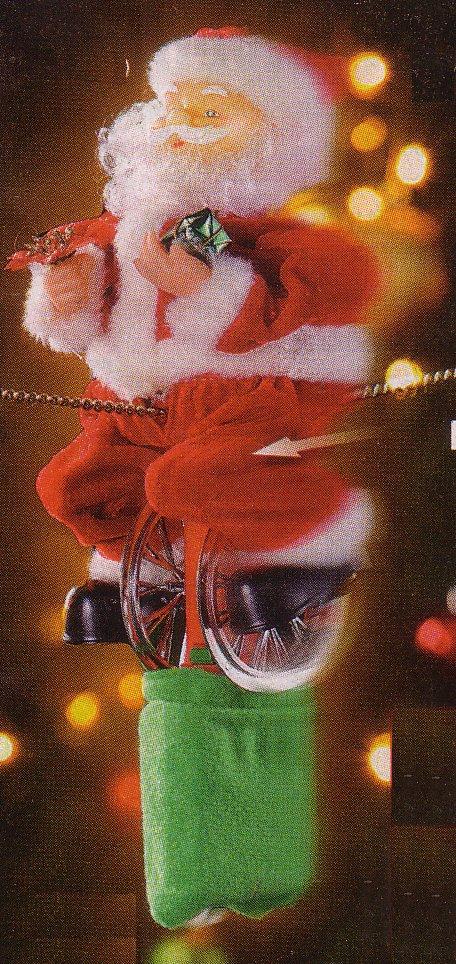 Weihnachtsmann auf Hochseil von Pearl