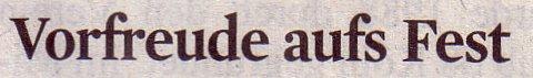 Kölner Stadt-Anzeiger, 08.12.2010, Titel: Vorfreude aufs Fest