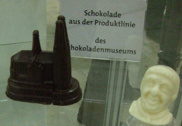 Das Schokoladenmuseum präsentiert sich als Kölner Ort im Land der Ideen