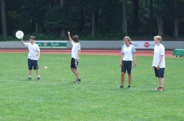 Junioren-Ultimate-Begegnung am Rande der Disc Days Cologne 2010