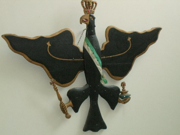 Der berühmte Vogel zum Abschießen, am Rande des VMB-Moduls 2