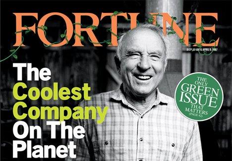 Das Cover des Fortune-Magazines zeigt 2007 Patagonia-Gründer Yvon Chouinard