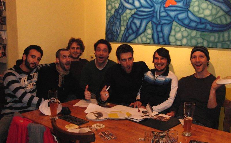 Die Runde der Freestyle-Vereinsgründer Januar 2011 in Berlin